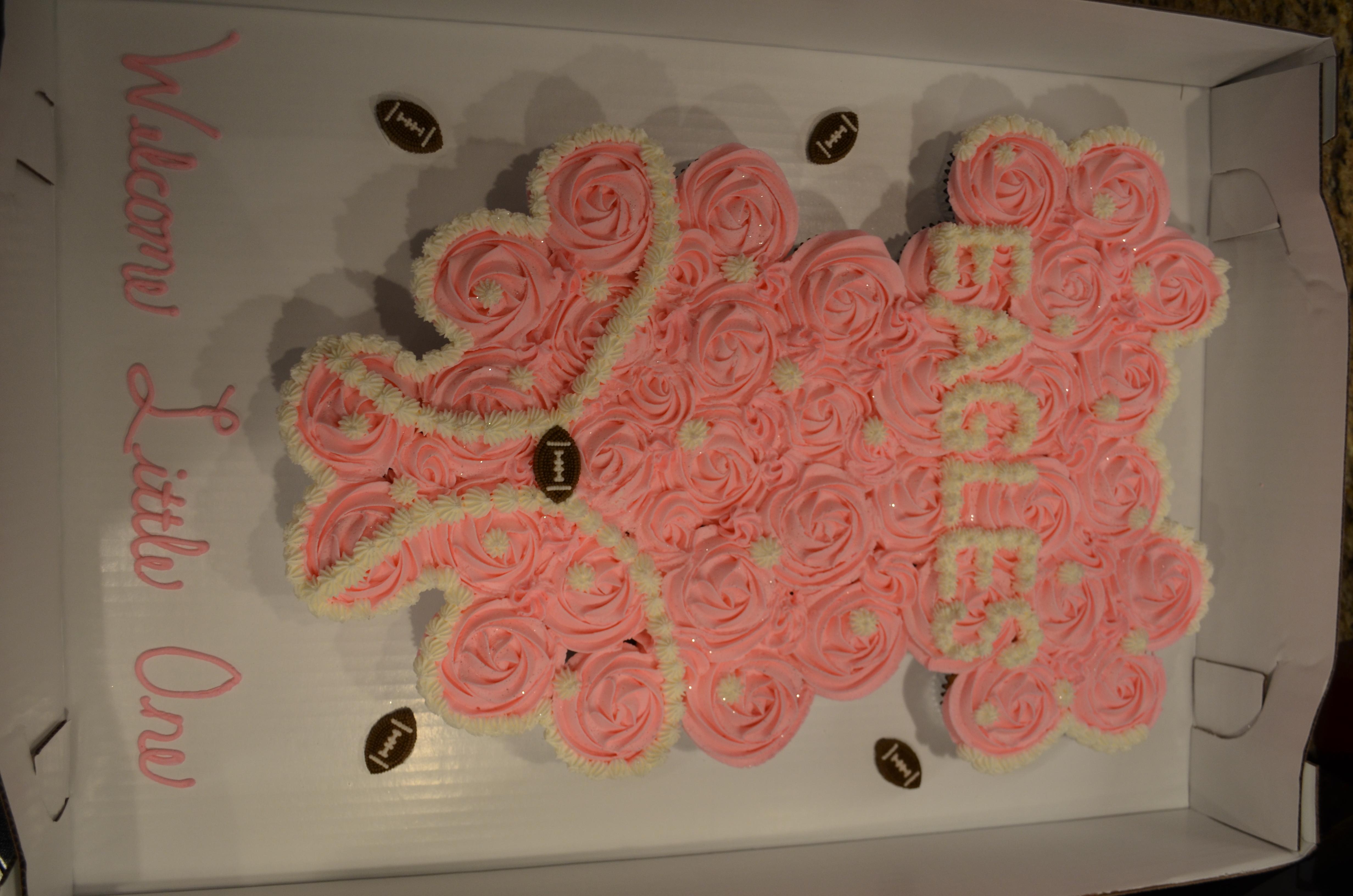 Eagles Onesie CC Cake