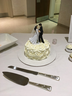 Wedding Rosettes Cake 3