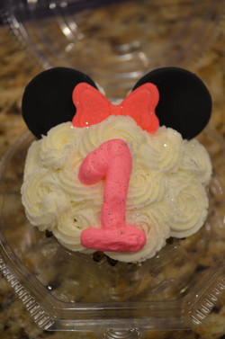 Minnie Mouse Muffin
