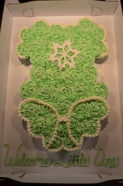 Snowflake Onesie CC Cake 2