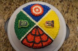 Superheroes Cake 3