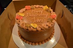8 in Fall Cake