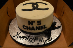Chanel No 5 Cake