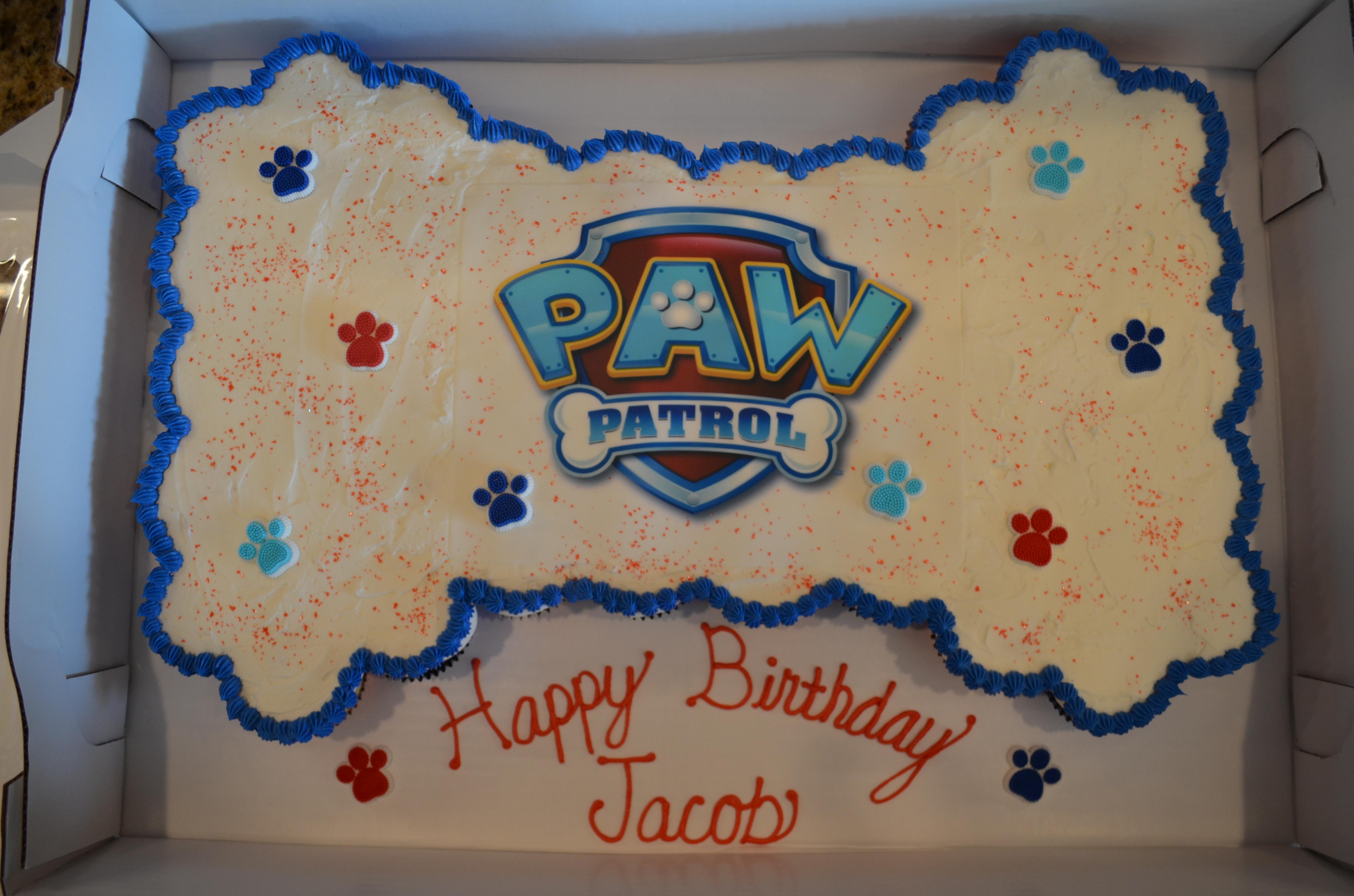Paw Patrol CC Cake