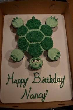 Turtle CC Cake