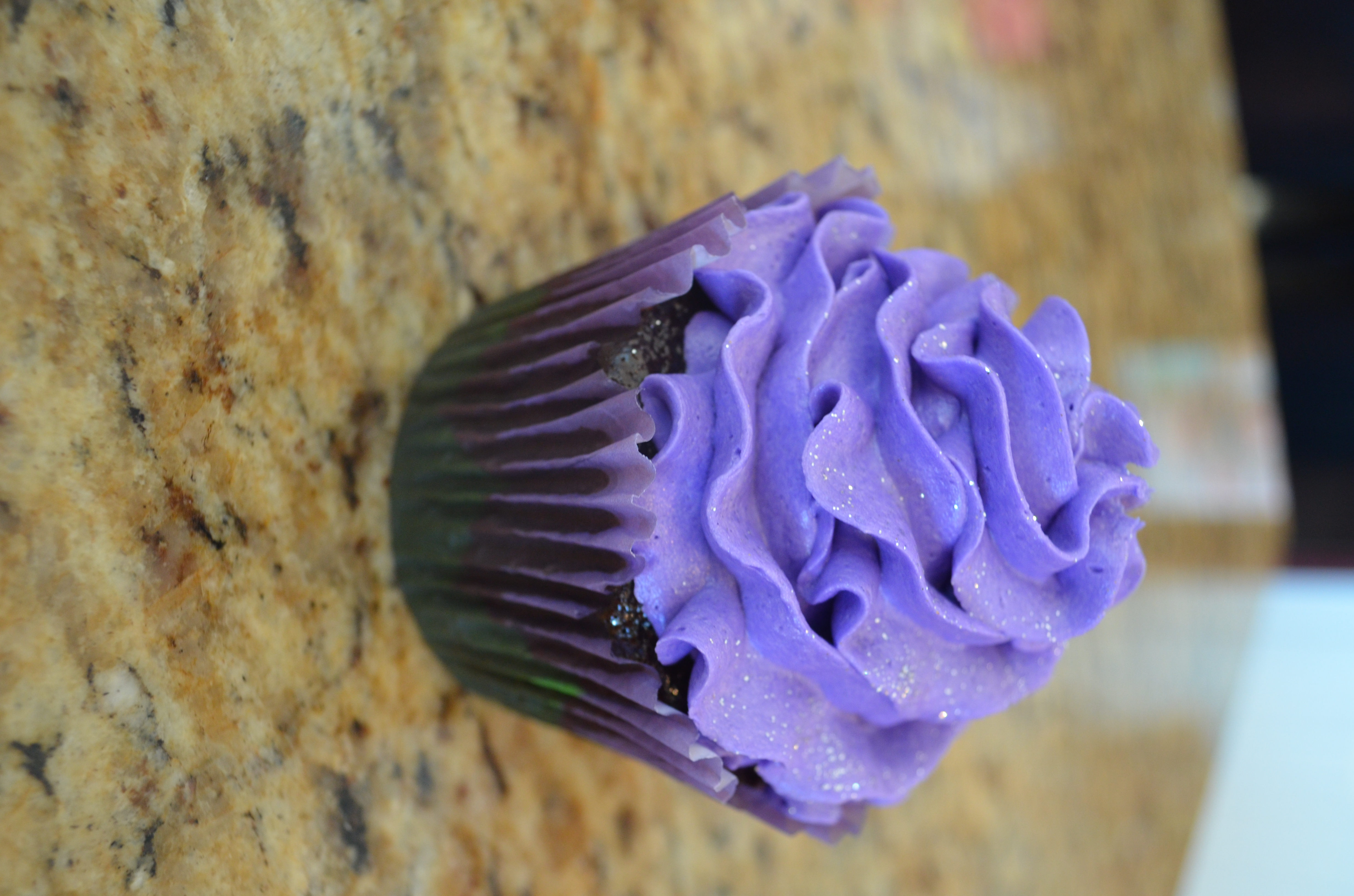 Lilac Muffin
