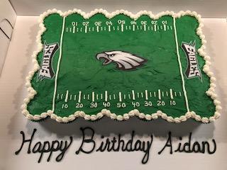 Eagles Field CC Cake