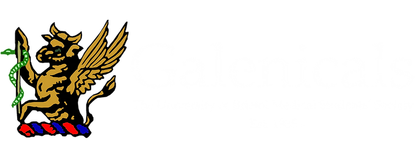 Official Galenicals Banner Logo [White T
