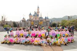 迪士尼樂園巡遊表演