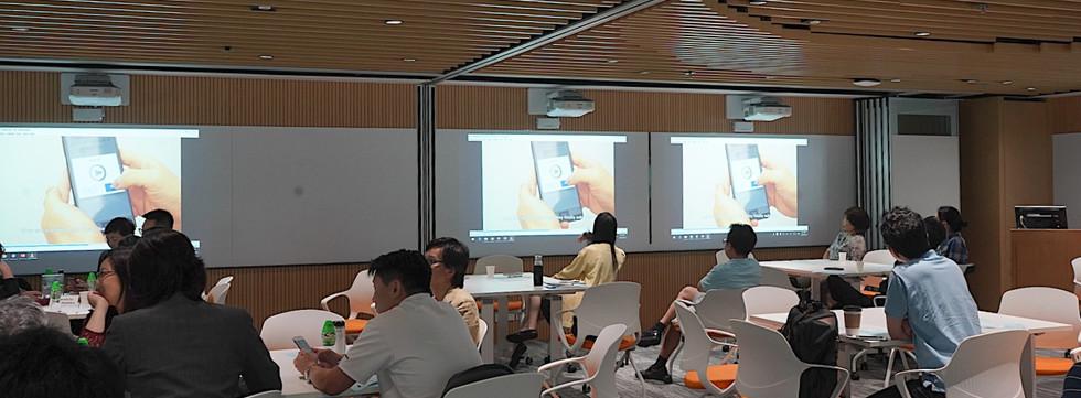 Sharing by Ms. Miranda LEE, The Chinese Univrsity of Hong Kong