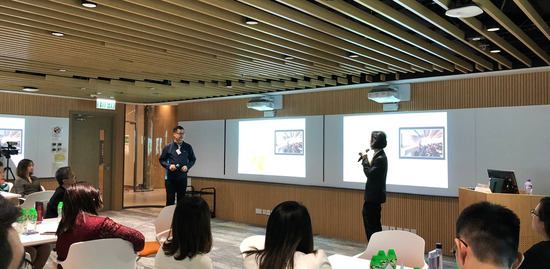 Sharing by Dr. Kevin CHAN & Dr. Simon LAI, The Hong Kong Polytechnic University