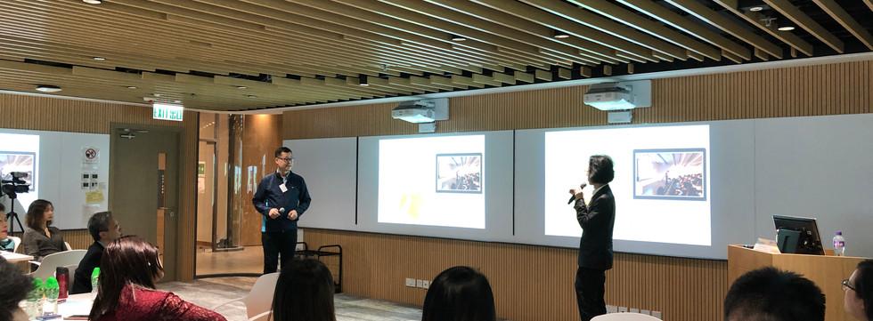 Sharing by Dr. Kevin CHAN & Dr. Simon LAI, The Hong Kong Polytechnic University