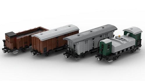 Güterwagenset (5) Epoche I