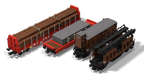 Güterwagenset (3)