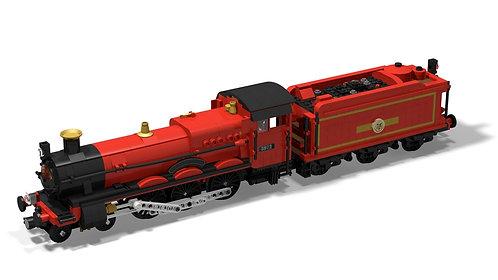 PDF-Anleitung Hall-Klasse 4900 Hogwarts Express