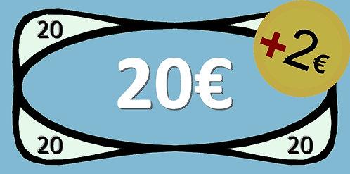 20€ Bricks-on-Rails Gutschein