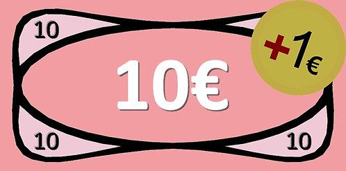 10€ Bricks-on-Rails Gutschein