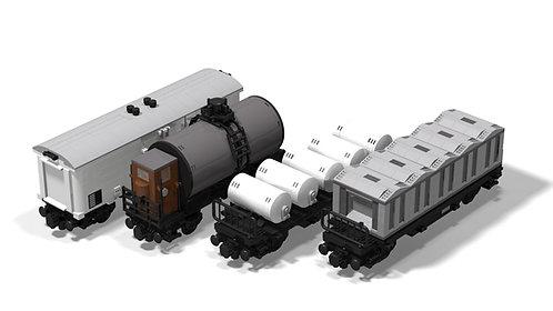 Güterwagenset (2)