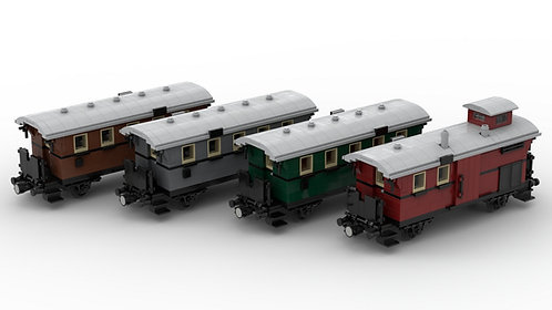 Preußische Personenwagen Set