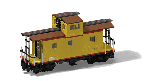 PDF-Anleitung Caboose 8-wide