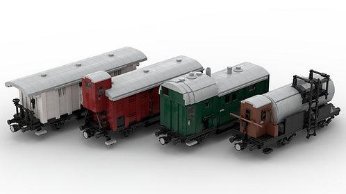 Güterwagenset (4) Epoche I
