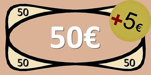 50€ Bricks-on-Rails Gutschein