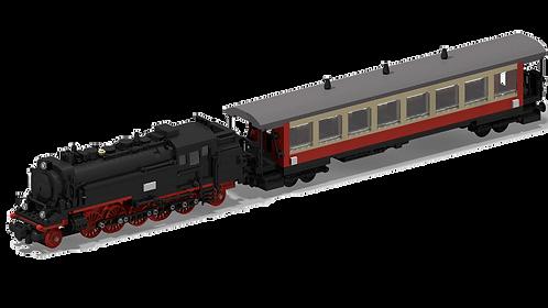 DR BR 99.23 + HSB Personenwagen