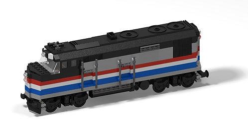 PDF-Anleitung EMD F40PH Amtrak