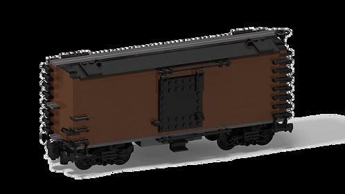 PDF-Anleitung Boxcar 50' 8-wide (braun)