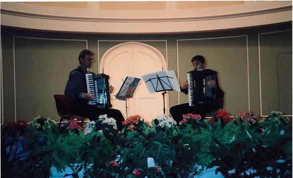 Akkordeon Duo Bad Reichenhall Kurhaus  B