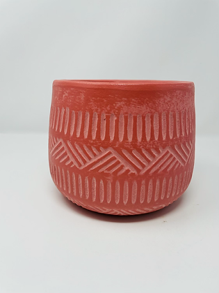 Plant Clay pot (Dusty Rose)