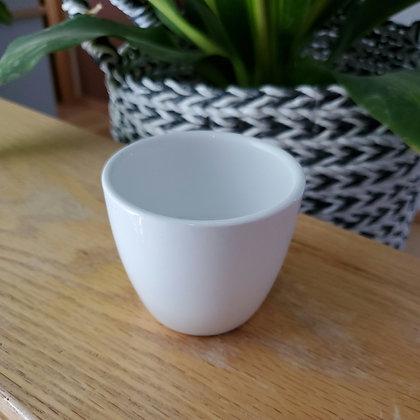 """Small Ceramic Pot 3""""wide x 2.5""""tall"""