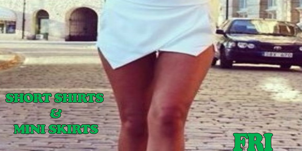 SHORT SHIRTS & Mini Skirts