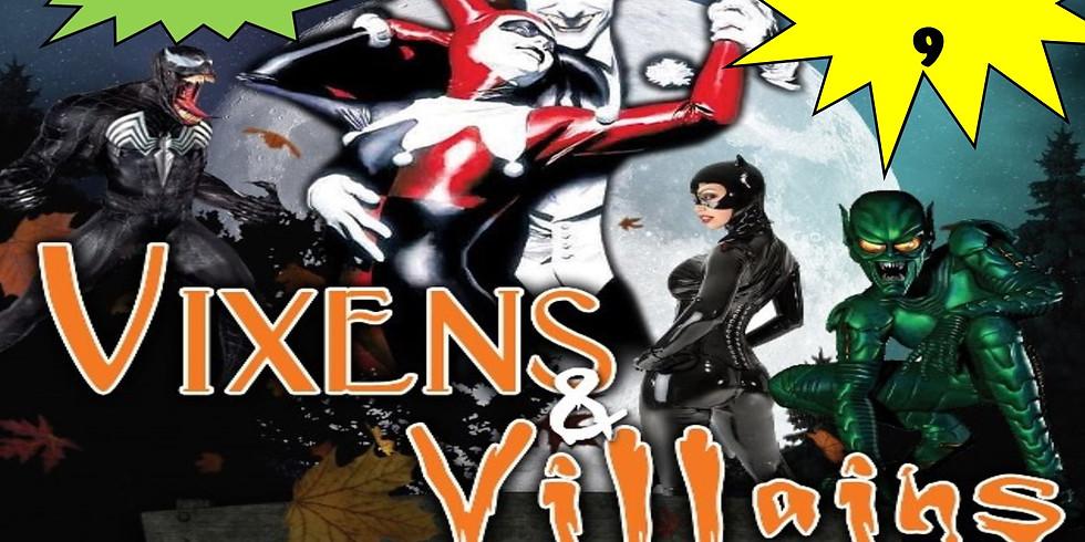 VIXENS & VILLAINS