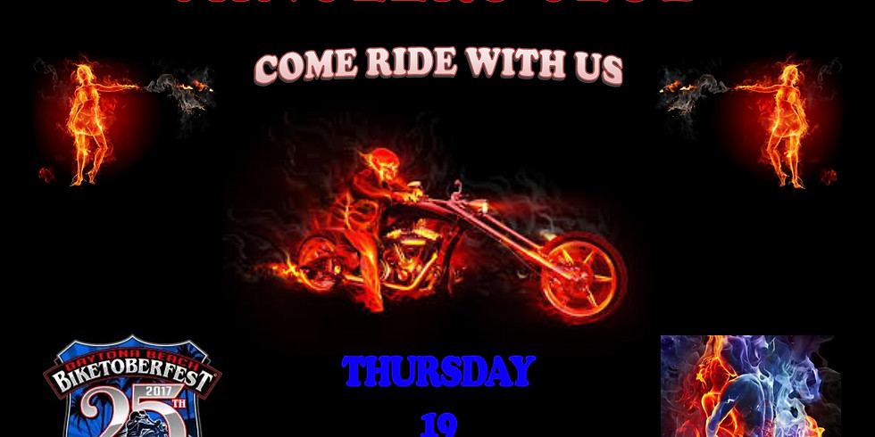COME RIDE WITH US