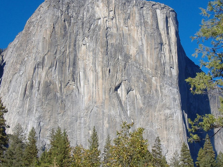 Yosemite is ajar--half open!