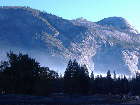 Fall Fire Prep in Yosemite Valley