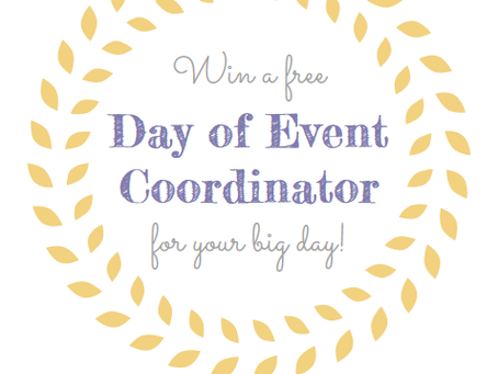 Win a FREE Day of Event Coordinator!