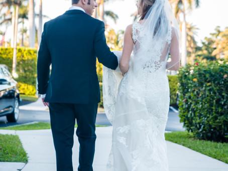 Stephanie + Robbie | West Palm Beach Lake Pavilion