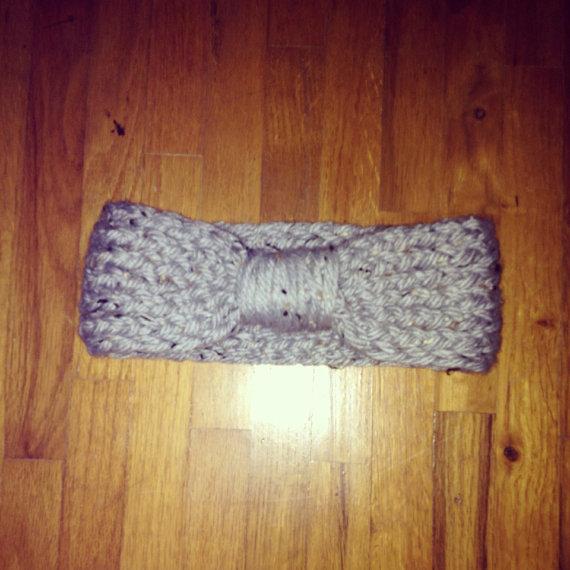 Knit Bow Headwrap