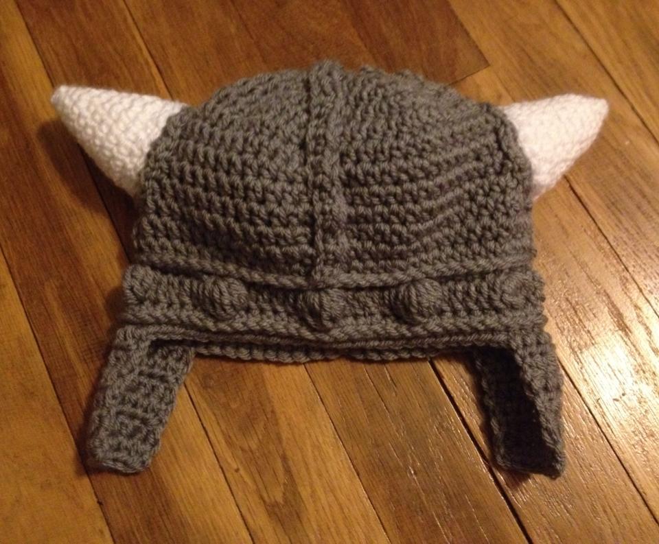 Crodchet Viking Hat