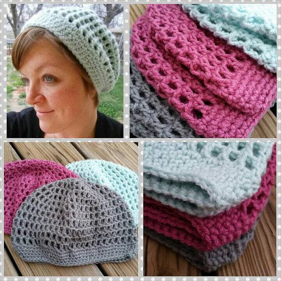 Crochet Slouch Hats
