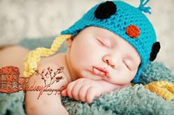 Crochet Bluebird Hat
