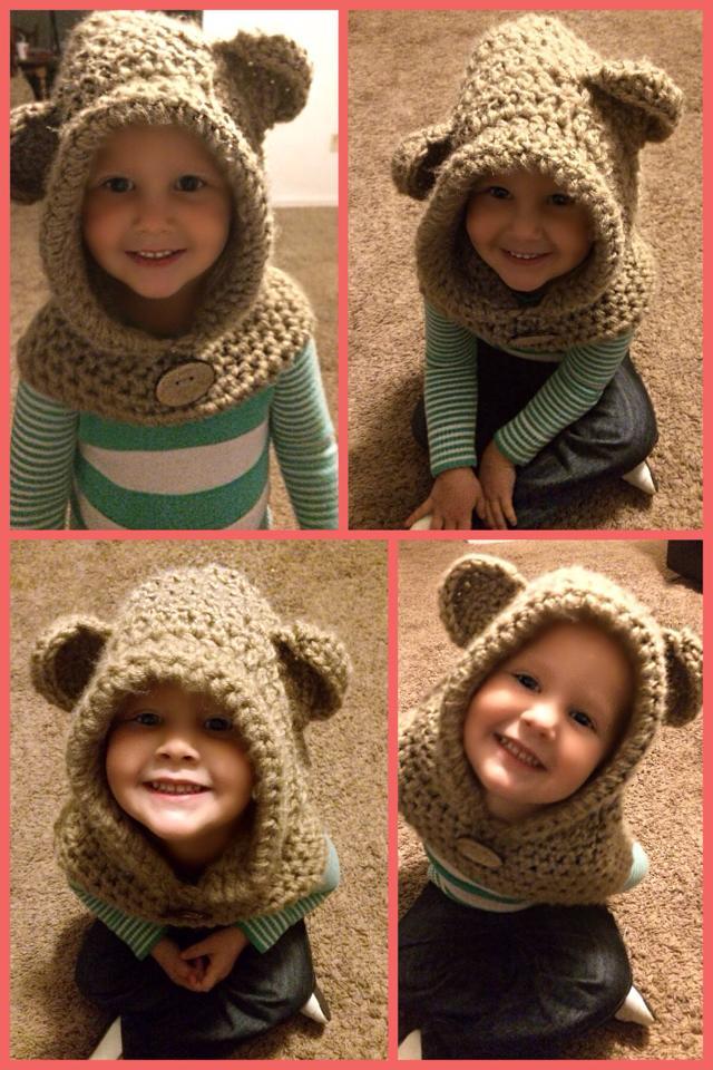Hooded Bear Cowl