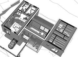 rodinný dom vo svahu