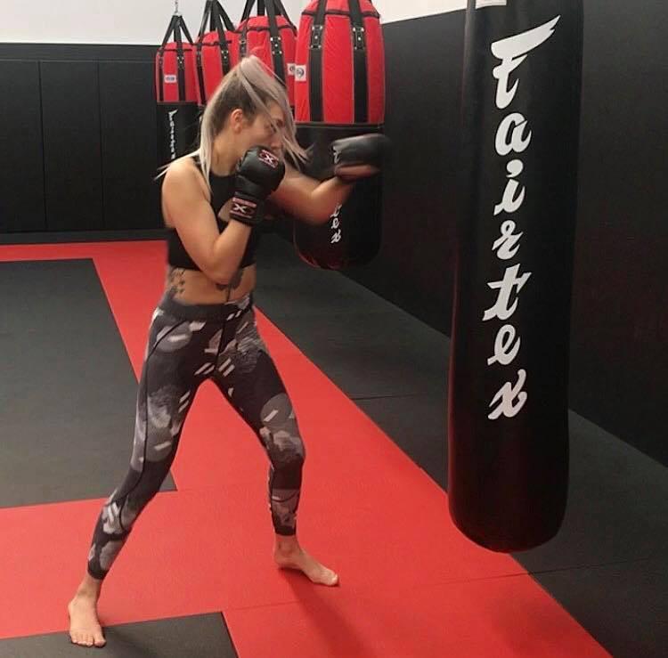 Mixed martial arts training 2017