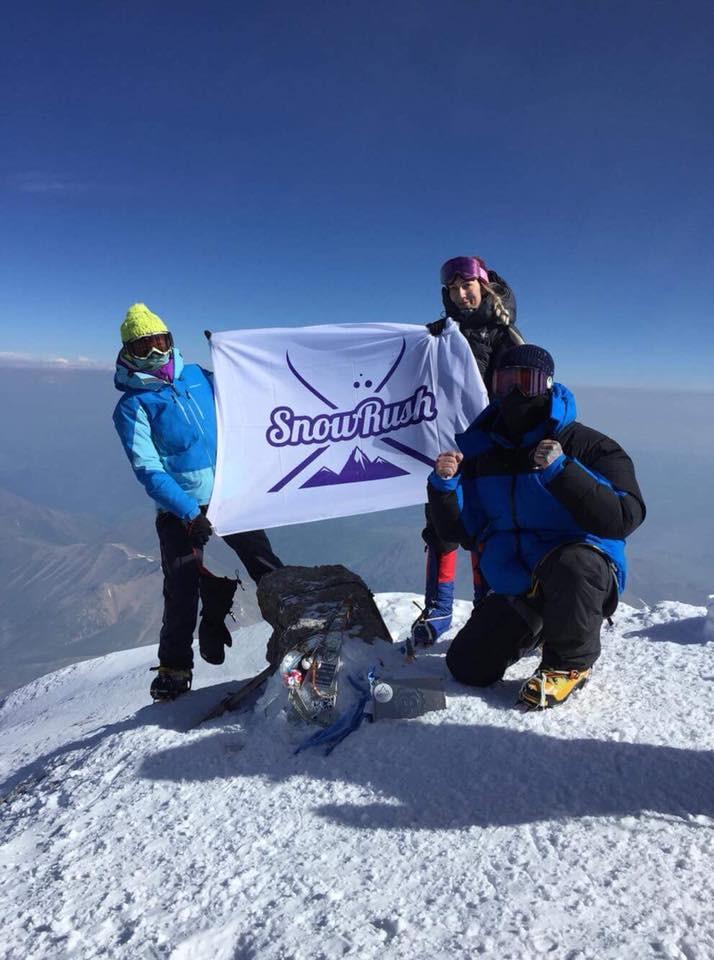 Mt Elbrus summit 2018