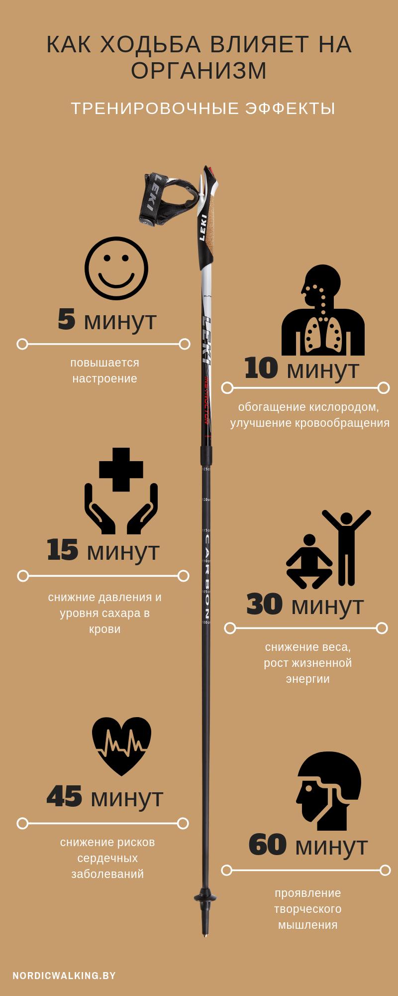 Влияние ходьбы на здоровье