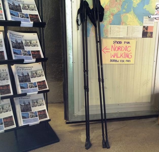 Палки для скандинавской ходьбы в прокат