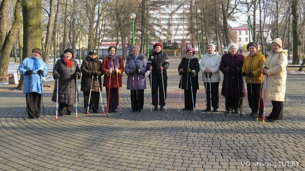 Скандинавская ходьба в Бресте